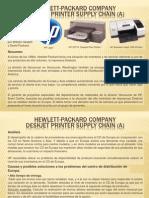 Hewlett-packard Company Deskjet Printer Supply Chain