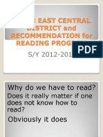 Libon East Central District and Recommendation for Reading