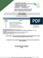 Quimica Taiobeiras 4 Chamada Ead Licenciaturas 2012 2