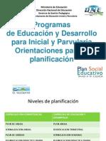 Planificacion Didactica Curriculo de `Primera Infancia.