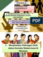 Membincangkan Ciri-ciri Etnik Dalam Konteks Demografi, Politik