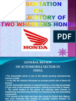 Presentation of Honda Case Study