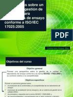 Perspectivas sobre SGC ISO/IEC 17025:2005