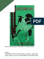 Akutagawa Y Rashomon i Druge Price