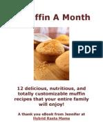 A Muffin a Month
