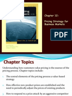 Ch12 Pricing Strategy