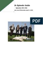 Life (NBC) - Episode Guide