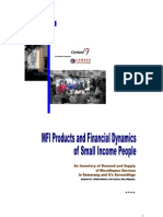 MFI Products vs Financial Dinamics of the Poor