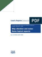 Lrs Ship Vibration