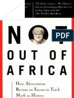 Not out of Africa (by Mary R. Lefkowitz)