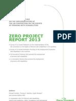 Zero Report 2013 GB1