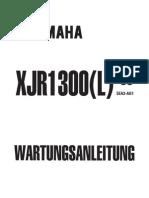 XJR 1300 1999 Werkstatthandbuch
