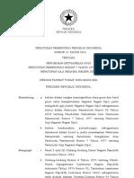 PP 11 Tahun 2011 Perubahan Atas PP 7-1977 Peraturan Gaji PNS