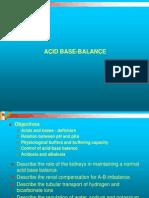Acid Base Balance physiology