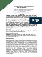 How to Fake Google Scholar Citations