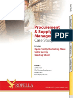 Ropella Case Study Procurement Supply Chain Management
