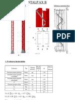 Calcul Stalp Ax B - Profile U Solidarizate - EC3