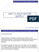 Cold Water Supply