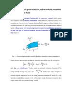 Conservarea Masei (Particularizare Pentru Modelul Curentului Unidimensional de Fluid