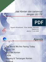 Regulasi Konten - Cahyana Ahmadjayadi