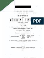 42434551 Cordier Etude Sur La Medecine Hindoue