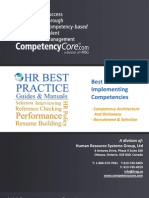 HRSG Best Practices for Implementing Competencies 2012-09-20