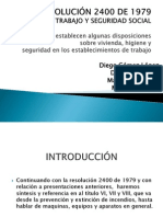 RESOLUCIÓN 2400 DE 1979.pptx
