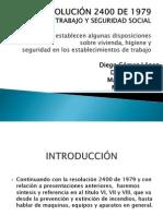 RESOLUCIÓN 2400 DE 1979.pptx