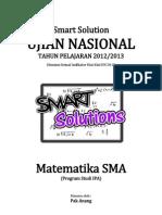 Smart Solution Un Matematika Sma 2013 (Skl 4.1 Aturan Sinus Atau Aturan Kosinus)