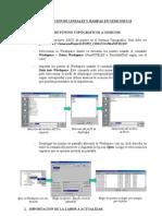 ACTUALIZACIàN DE LINEALES Y RAMPAS EN GEMCOM 5