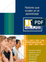 Factores Que Inciden en El Aprendizaje1