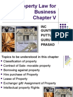 ch 5 property law for business