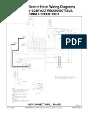 [DIAGRAM_38IU]  Budgit BEHC Wiring Diagram   Electronic Engineering   Electrical Equipment   Budgit Hoist Wiring Diagram      Scribd