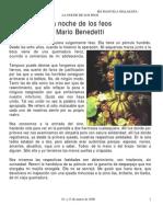Mario Benedetti- Noche de Los Feos