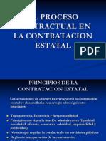 El Proceso Contractual en La Contratacion Estatal