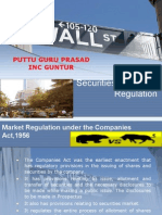 ch 7 securities law  and regulations