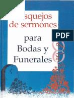 Bosquejo de Sermones Para Bodas y Funerales Jose Luis Martinez