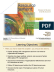 STRATEGIC HR MANAGEMENT & PLANNING