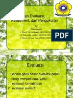 Perbedaan Evaluasi, Assesment, dan Pengukuran.pptx