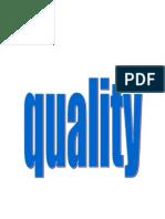 Qualty
