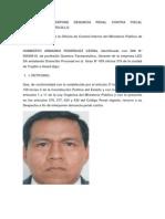 Denuncia Penal Contra Fiscal