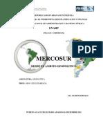 Lic. Eudemar Rojas- Mercosur-geopolitica