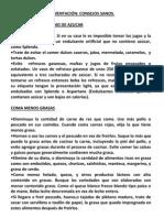ALIMENTACION CONSEJOS SANOS
