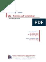 Lab Manual Final by NIOS