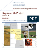 Volume Two, Environmental Consequences and Alternatives, Keystone XL Pipeline Supplemental Environmental Impact Statement