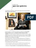 Entrevista a Piedad Cordoba 02 10 2010
