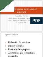 Estimulacion Temprana(Claudia Tobar)
