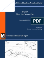 WMATA Silver Line Service Plan Presentation--022813