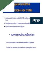 LIGAÇÃO QUÍMICA - TLV - Orbitais Hibridos -Química Geral