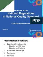 Childcare Queensland DETE Presentation 18 April FINAL